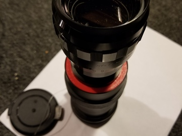 Rent: CUSTOM ANAMORPHIC LENS for Canon & Nikon DSLR Cameras