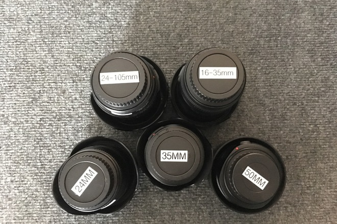 Canon L Series Primes and Zooms Lens Kit