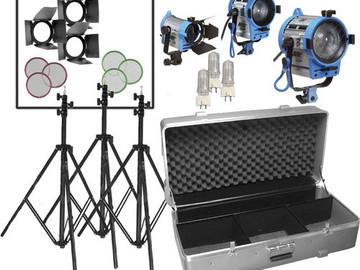 Rent: Arri Compact Fresnel Three-Light Kit (650, 300, 150)
