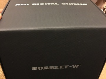 Rent: Brand New Red Scarlet W EF MOUNT