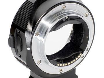 Rent: Smart Adapter for Canon EF Lens to Sony E-Mount Camera