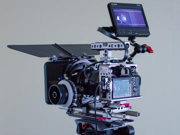 Sony A7s ii Cinema Package w/Tripod & Shoulder Rig