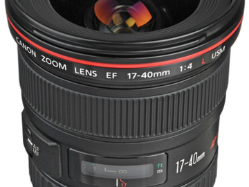 Rent: Canon EF 17-40mm f/4L USM