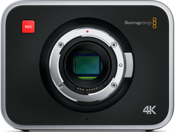 Rent: Basic Black Magic 4K Cinema Camera Package + Support