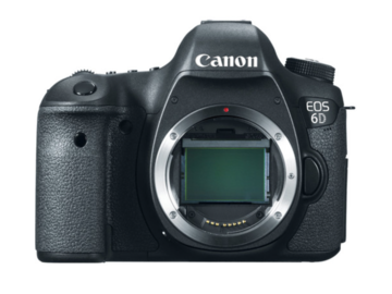 Rent: Canon 6D DSLR Body Only w/ 2 Batteries, 32 GB SD Card