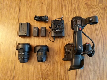 Rent: Canon C100 Mark II w/ EF Lens kit