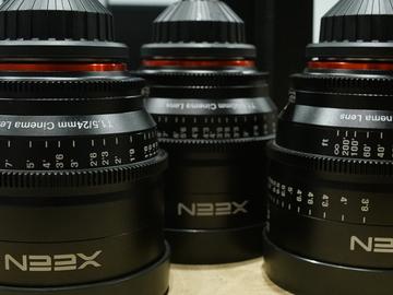 Rokinon Xeen Prime Lens Kit