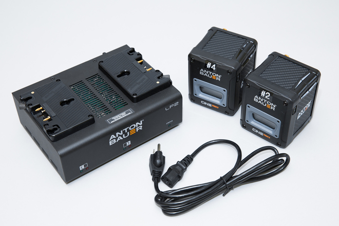 2 anton bauer gm cine 150 batteries dual charger