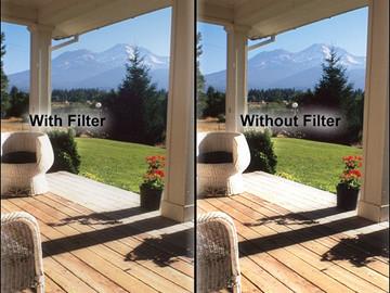 "Rent: Tiffen 4 x 5.65"" Black Pro-Mist 1/8 Filter"