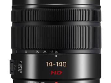 Rent:  Lumix G Vario 14-140mm f/3.5-5.6 ASPH