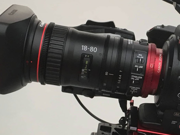 Rent: Canon CN-E 18-80mm T4.4 COMPACT-SERVO Cinema Zoom Lens (EF)