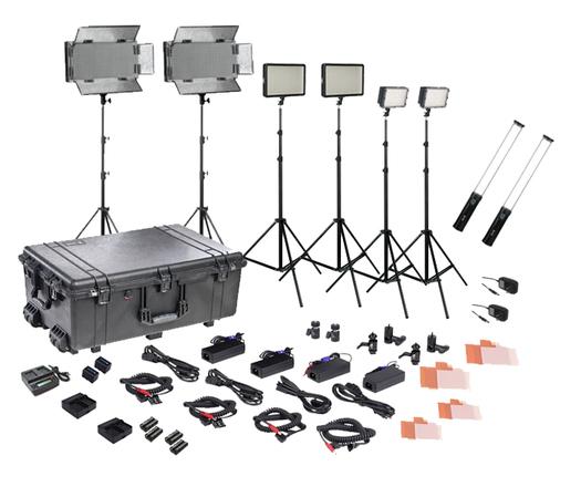 Bi-Color 170/320/700/wand LED field lighting kit (8 lights)