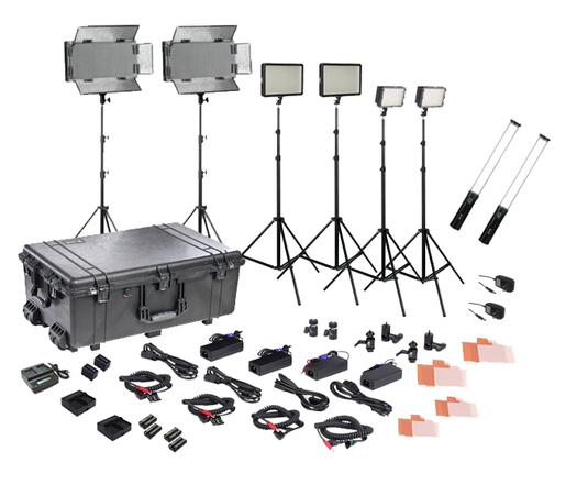 Bi-Color 170/320/700/wand LED field lighting kit (8 lights)
