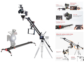 Rent: Konova K7 SliderJib w/ SmartHead and SmartController