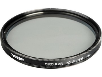 Rent: Tiffen 77mm Circular Polarizer Filter -