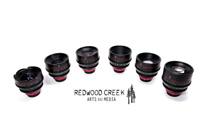 Canon Cinema Primes (CN-E) 6 Lens Set