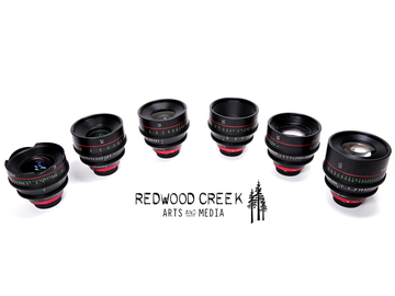 Rent: Canon Cinema Primes (CN-E) 6 Lens Set