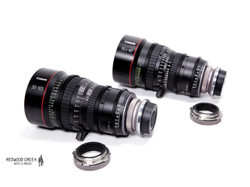 Rent: Canon Compact Cinema Zooms (15.5-47/30-105) w/Duclos Mount