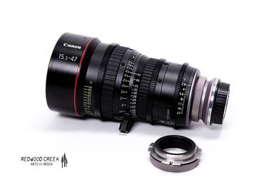 Canon CN-E Compact Zoom 15.5-47 EF/PL (Duclos Multi-Mount)