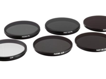 X5S/X5R/X5 Inspire 2 ND & CP Filters (6-pack)