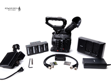 Rent: Canon C300 Mark II Cinema Camera (Package #1)