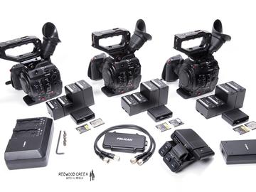 Rent: C300 Mark II Multi-Cam (3 cameras)