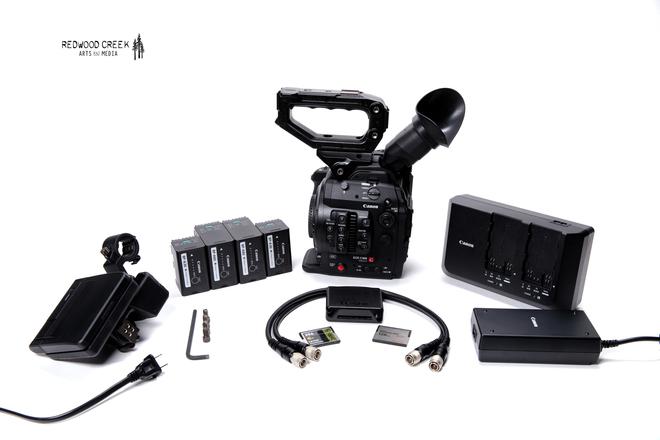 Canon C300 Mark II & CN-E Prime Lens Kit (6)