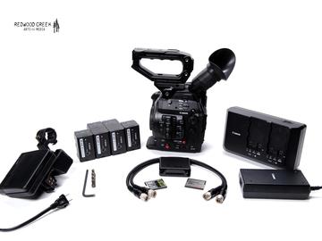 Rent: Canon C300 Mark II & CN-E Prime Lens Kit (6)