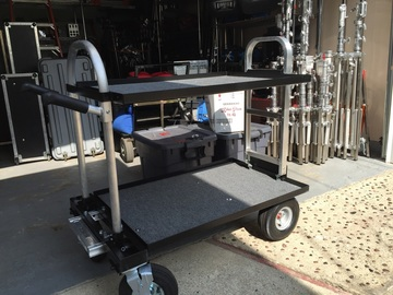 Rent: Magliner Junior Cart Modified with 8 Inch Wheels Top and Bot