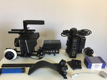 Rent: Blackmagic 2.5k  Cinema Camera Package