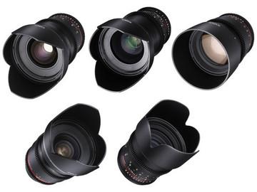 Rent: Rokinon Cine DS 5 Lens Primes Package