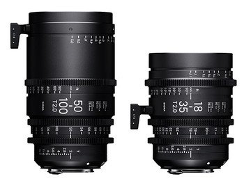 Rent: Sigma 18-35mm & 50-100mm T/2.0 PL mount