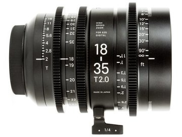 Rent: Sigma 18-35mm T/2.0 EF mount