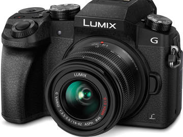 Rent: Panasonic Lumix G7 DSLM