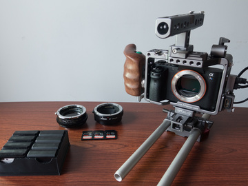Rent: Sony A7S II combo package - Camera/Media/Adapter/Tripod/ND