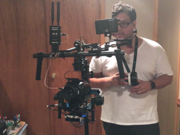 Rent: Full Ronin XL Kit - Arm Ext, Wireless FF & Video, Support Rg
