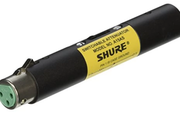 Rent: Shure A15AS Switchable Attenuator
