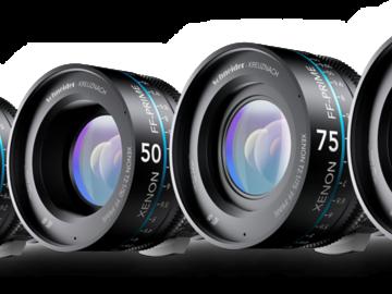 Rent: Schneider Xenons 5 Lens set