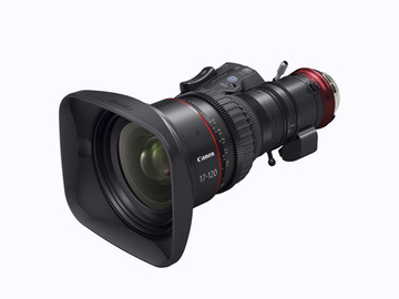 Rent: Canon Cine-Servo 17-120mm T2.95-3.9 PL Mount Zoom Lens
