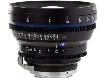 Rent: Zeiss CP.2 Compact Prime 21mm T2.9 - PL or EF