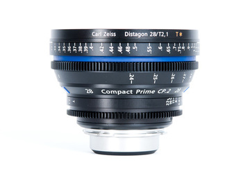 Rent: Zeiss CP.2 Compact Prime 28mm T2.1 - PL or EF