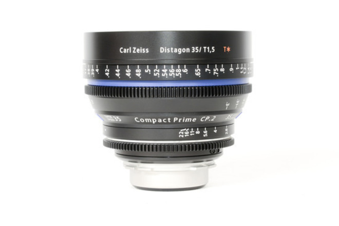 Zeiss CP.2 Compact Prime 35mm T2.1 - PL or EF
