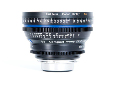 Rent: Zeiss CP.2 Compact Prime 50mm T2.1 - PL or EF