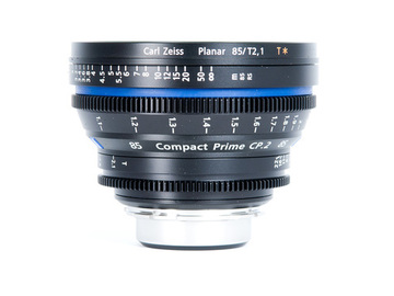 Rent: Zeiss CP.2 Compact Prime 85mm T2.1 - PL or EF