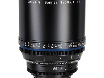 Rent: Zeiss CP.2 Compact Prime 135mm T2.1 - PL or EF