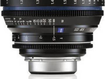Rent: Zeiss CP.2 Compact Prime Super Speed 85mm T1.5 - PL or EF