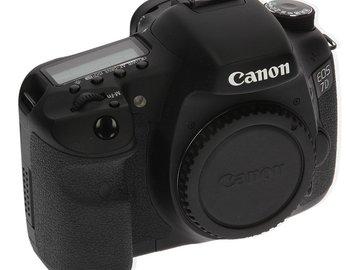 Rent: Canon 7D Body