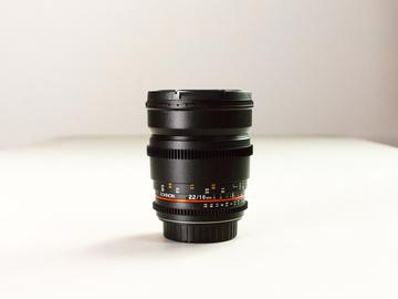 Rent: Rokinon 16mm EF-S Lens