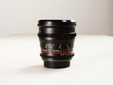 Rent: Rokinon 50mm EF Prime Lens