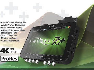 Rent: ODYSSEY 7Q+ 4K RECORDER/MONITOR FULL LICENSE